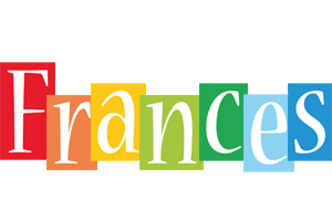Frances colors logo