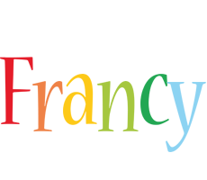 Francy birthday logo