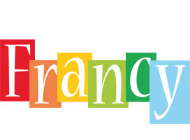Francy colors logo