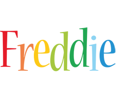 Freddie birthday logo