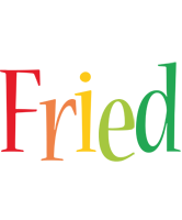Fried birthday logo