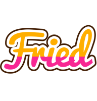 Fried smoothie logo