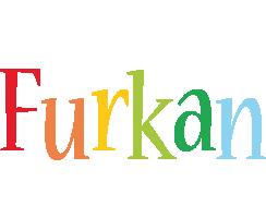 Furkan birthday logo