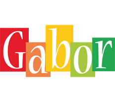Gabor colors logo