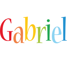 Gabriel birthday logo