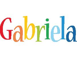 Gabriela birthday logo