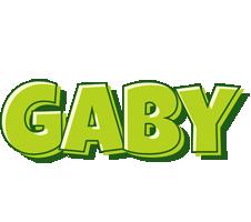 Gaby summer logo