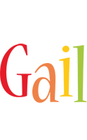 Gail birthday logo