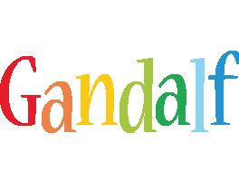 Gandalf birthday logo