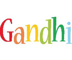 Gandhi birthday logo