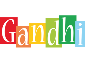 Gandhi colors logo