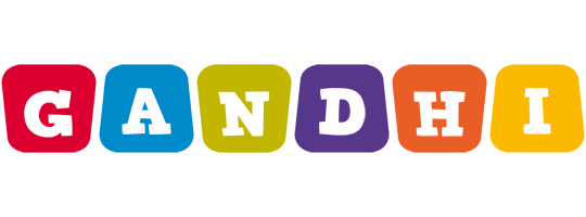Gandhi kiddo logo