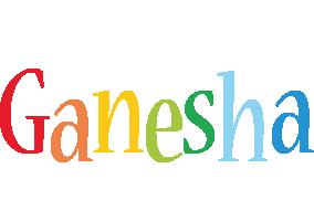 Ganesha birthday logo