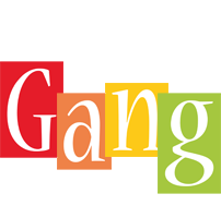 Gang colors logo