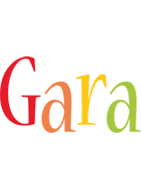 Gara birthday logo
