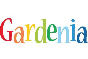 Gardenia birthday logo