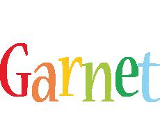 Garnet birthday logo