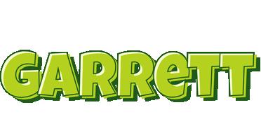 Garrett summer logo