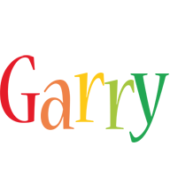 Garry birthday logo