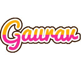 Gaurav smoothie logo