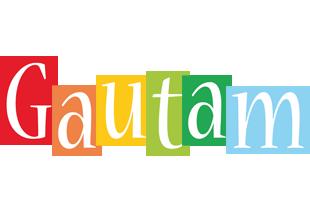 Gautam colors logo