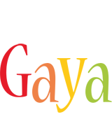 Gaya birthday logo