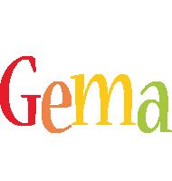 Gema birthday logo