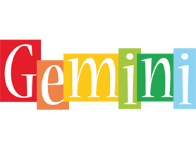 Gemini colors logo