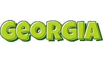 Georgia summer logo