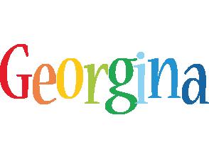 Georgina birthday logo