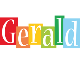 Gerald colors logo