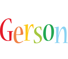 Gerson birthday logo