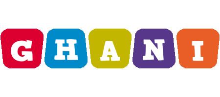 Ghani kiddo logo