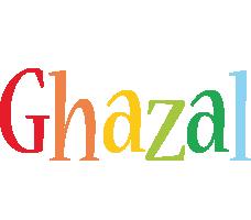 Ghazal birthday logo
