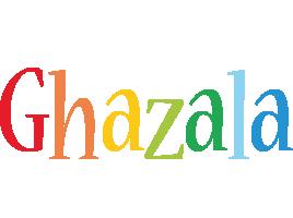 Ghazala birthday logo