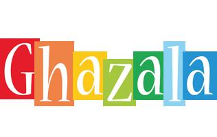 Ghazala colors logo