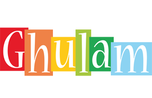 Ghulam colors logo