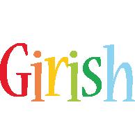 Girish birthday logo