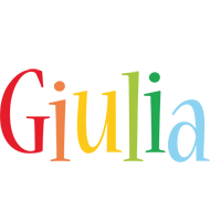 Giulia birthday logo