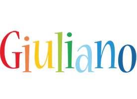 Giuliano birthday logo