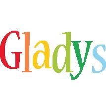 Gladys birthday logo