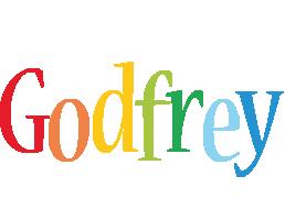 Godfrey birthday logo