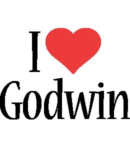 Godwin I Love Logo