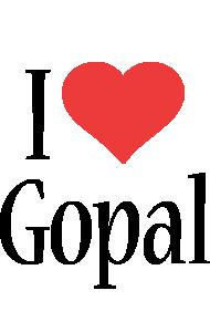 Gopal i-love logo