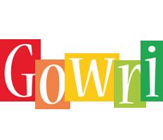 Gowri colors logo