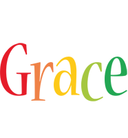 Grace birthday logo