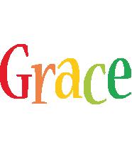 Grace birthday logo