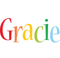Gracie birthday logo
