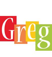 Greg colors logo