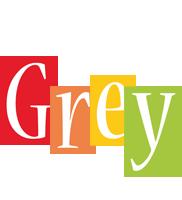 Grey colors logo